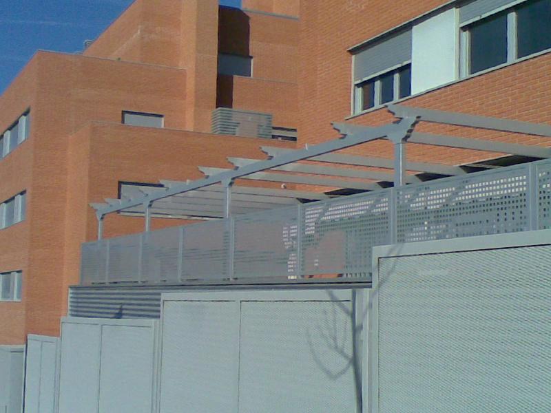 Fabrica de toldos p rgolas de aluminio for Toldos de aluminio